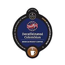 image of Vue™ 16-Count Timothy's Decaffeinated Colombian Coffee for Keurig® Brewers