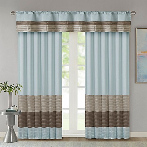 Madison Park Amherst Window Curtain Panel And Valance