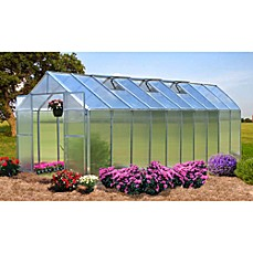 image of Riverstone Monticello Extruded Aluminum 8-Foot x 20-Foot Residential Greenhouse