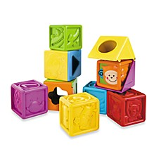image of B Kids® Bebee & Friends™ Soft Peek-A-Boo Block