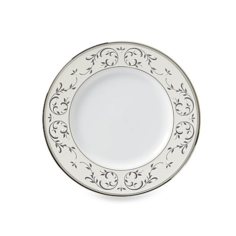 Lenox® Opal Innocence™ Silver Accent Plate