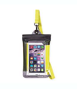 Funda a prueba de agua para celular/cámara digital, Travelon®, amarillo