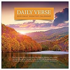 Daily Verse 2019 Desktop Calendar