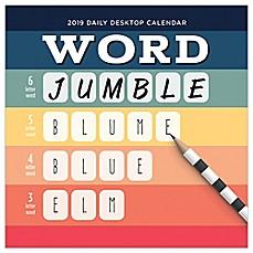 Word Jumble 2019 Daily Desktop Calendar