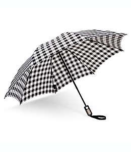 Paraguas invertido de bolsillo UnbelievaBrella™ ShedRain® en estampado de bison