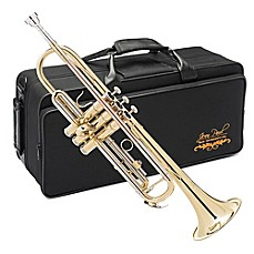 image of Jean Paul Intermediate Trumpet with Case in Gold