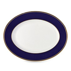 image of Wedgwood® Renaissance Gold 13-Inch Oval Platter