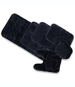 Cubierta universal para tapa de inodoro Wamsutta® Duet, en azul cobalto