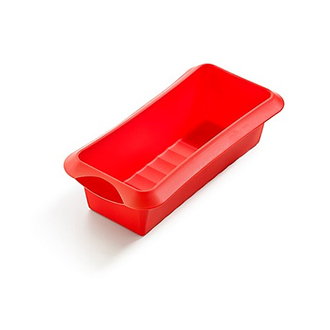 L 233 Ku 233 5 Cup Silicone Loaf Pan Bed Bath Amp Beyond