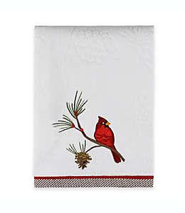 Toalla de medio baño de algodón  Snow Cardinals