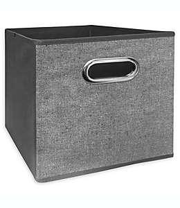 Contenedor plegable de 27.94 cm Relaxed Living en gris