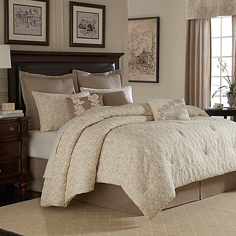 Bridge Street Sonoma Full Comforter Set in Ivory