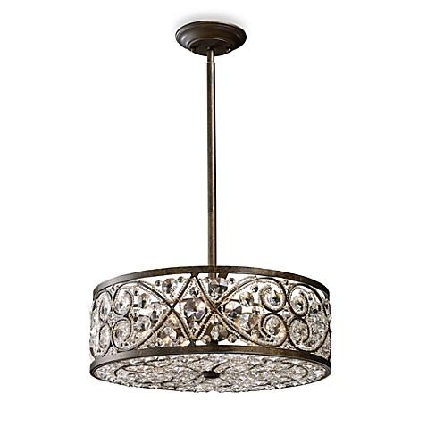 Buy Elk Lighting Amherst 6 Light Pendant In Antique Bronze