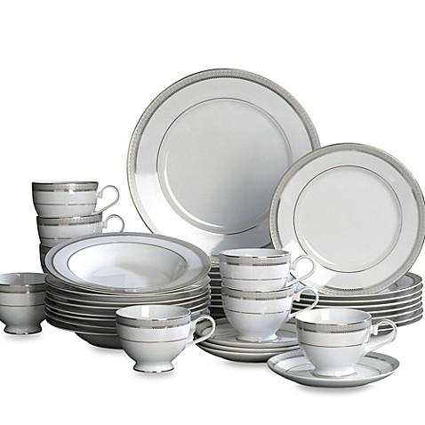Mikasau0026reg; Platinum Crown 40-Piece Dinnerware Set  sc 1 st  Bed Bath u0026 Beyond & Mikasa® Platinum Crown 40-Piece Dinnerware Set - Bed Bath u0026 Beyond