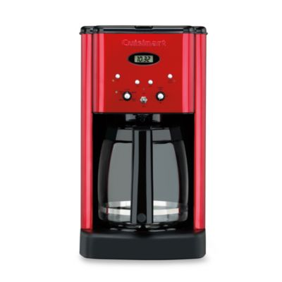 Cuisinart Brew Central 12-Cup Programmable Coffee Maker in Metallic Red - Bed Bath & Beyond