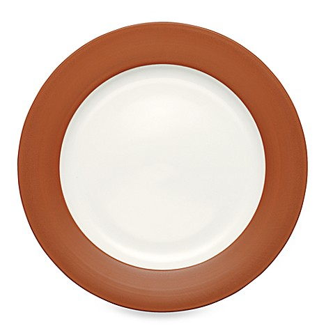 Noritake® Colorwave Rim Dinner Plate in Terracotta