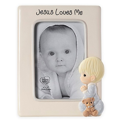 Precious Moments® Praying Boy 4-Inch x 6-Inch Picture Frame - buybuy ...