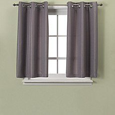 image of Hookless® Waffle 45-Inch Window Curtain