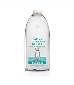 Method® Repuesto para limpiador de regadera con aroma a eucalipto y menta, 2.01 L