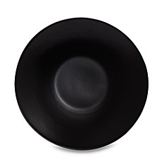 image of Gibson Home Paradiso 11-Inch Dinner Plate in Black