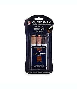 Marcadores para retoque de muebles Guardsman®, Kit de 3 piezas