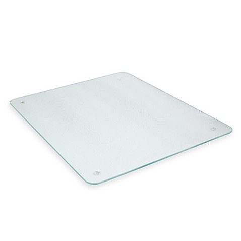 Salt 16 Inch X 20 Inch Glass Cutting Board Bed Bath