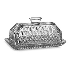 image of Waterford® Lismore Covered Butter Dish