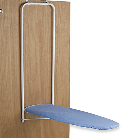 Over-the-Door Ironing Board  sc 1 st  Bed Bath \u0026 Beyond & Over-the-Door Ironing Board Hanger - Bed Bath \u0026 Beyond