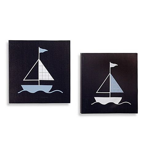 Nautica Kids® William Canvas Wall Art (Set of 2)