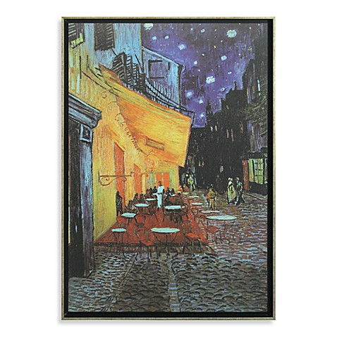 The Cafe Terrace On The Place Du Forum In Arles At Night