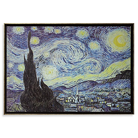 Starry Night by Vincent Van Gogh Wall Art