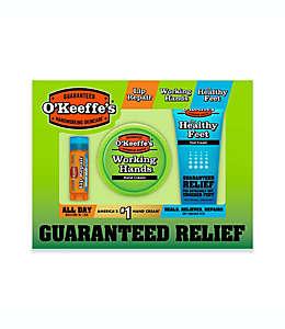 Paquete de cremas hidratantes O´Keefe´s para pies y manos