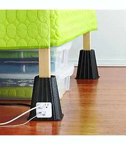 Elevadores para cama con puerto USB Studio 3B™, Set de 4