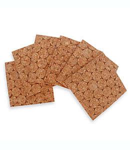 Portavasos cuadrados de corcho Thirstystone® , Set de 6