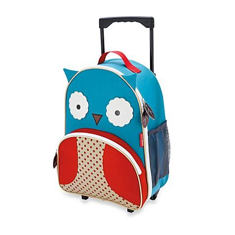 SKIP*HOP® Zoo Little Kid Rolling Luggage in Owl - Bed Bath & Beyond