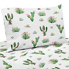 sweet jojo designs cactus floral bedding collection - Cactus Bedding