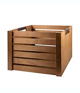 Caja chica de madera UGG® en café