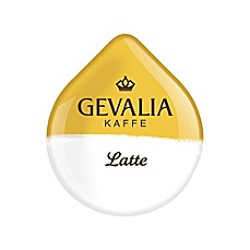 image of Gevalia 80-Count Latte T DISCs for Tassimo™ Beverage System