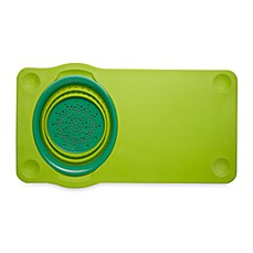 image of squish® Cutting Board with Collapsible Colander