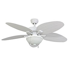 image of 52-Inch Hawks Cay Outdoor Ceiling Fan with Light Kit