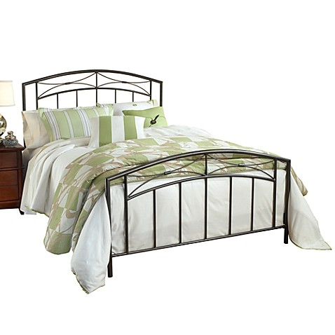 Hillsdale Morris King Bed Set with Rails