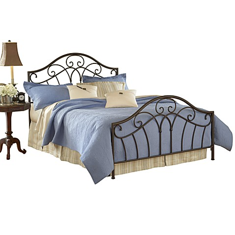 Hillsdale Josephine King Bed Set with Rails