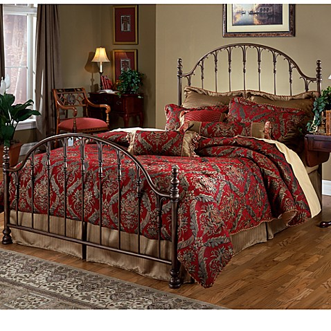 Hillsdale Tyler Full Bed Set with Post Kit & Rails