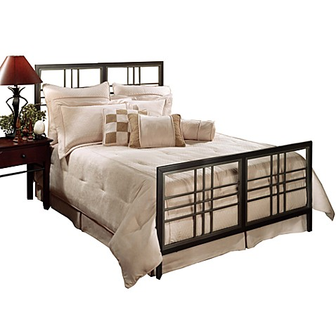 Hillsdale Tiburon King Bed Set with Rails