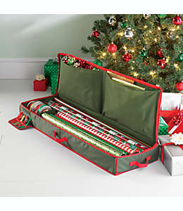 Estuche navideño Real Simple®, de almacenamiento para papel de regalo