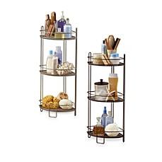 Image Of 3 Tier Corner Storage Shelf