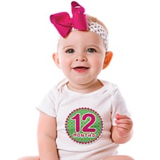 image of Sticky Bellies™ Oh Sew Adorable 1 to 12 Months Stickers