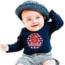 image of Sticky Bellies™ Oh Sew Handsome 1 to 12 Months Stickers