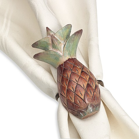 Pineapple Napkin Ring Bed Bath Amp Beyond