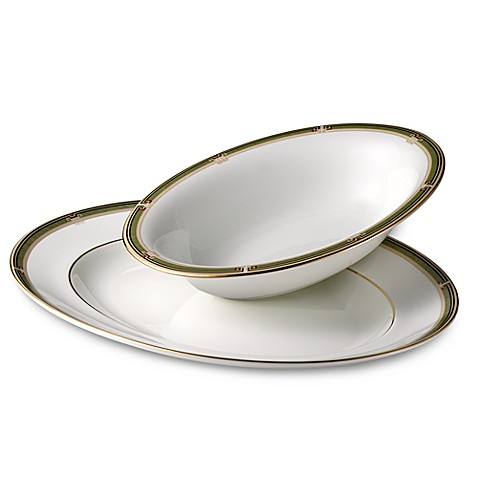 Wedgwood® Oberon 9 3/4-Inch Oval Open Vegetable Bowl